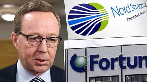 Omistajaohjauksesta vastaava elinkeinoministeri Mika Lintilä (kesk) sanoo, ettei ollut tietoinen Uniperin sijoituksesta kaasuputkeen.