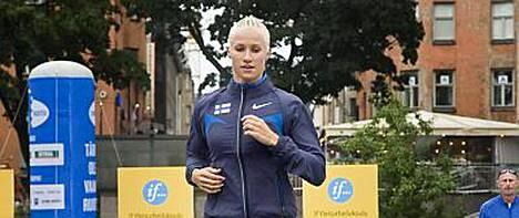 Hanna-Maria Seppälä saa sittenkin juosta Ruotsi-ottelussa.