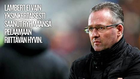 Paul Lambertin aika Aston Villan valmentajana tuli täyteen.