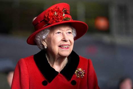 Kuningatar Elisabet vuonna 2021.