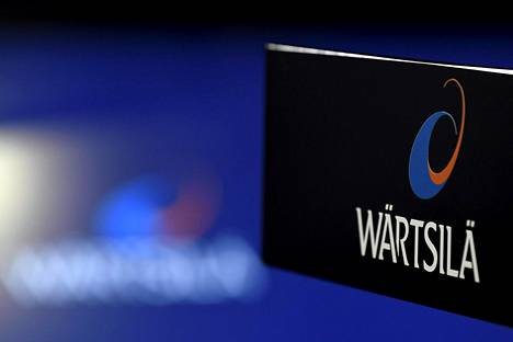 Wärtsilän logo kuvattuna tammikuussa.