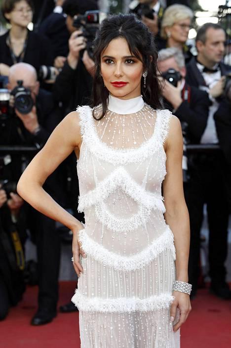 Cheryl Cole kuvattuna Cannesin filmifestivaaleilla toukokuussa.