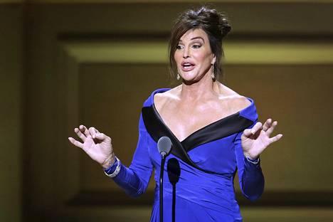 Caitlyn Jenner eli entinen Bruce Jenner, kymmenottelun olympiavoittaja.
