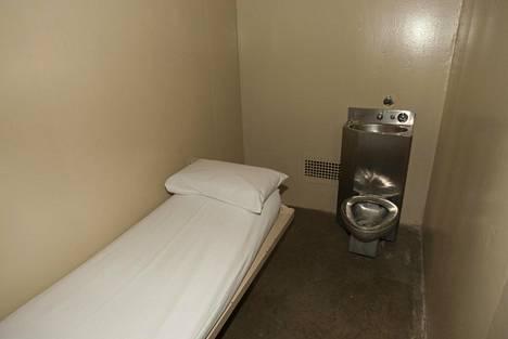 Kuolemanselli Teksasin osavaltion vankilassa Huntsvillen kaupungissa. Maan etelärajalla sijaitsevassa osavaltiossa teloitetaan enemmän vankeja kuin missään muualla Yhdysvalloissa.