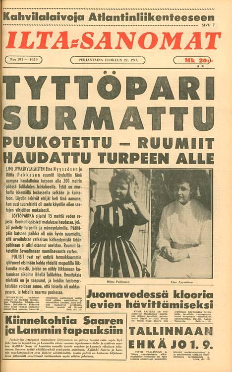 Tulilahden kaksoismurha järkytti koko Suomea. Tapausta seurattiin mediassa tiiviisti.