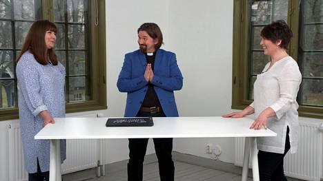 Elina Tanskanen, Kari Kanala ja Marianna Stolbow nähdään asiantuntijoina uudella Ensitreffit alttarilla -kaudella.
