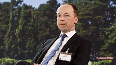 Puheenjohtaja Jussi Halla-aholle ei ole vastaehdokasta Perussuomalaisten puoluekokouksessa.
