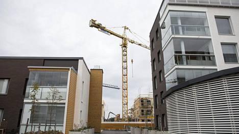 Oulussa vuokralle pääsee muun muassa Toppilan alueelle, jossa on viime vuosina rakennettu paljon uutta.