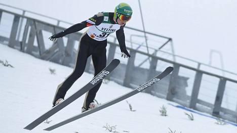 Leevi Mutrun tyylinäyte Lahden MM-hiihdoissa vuonna 2017.