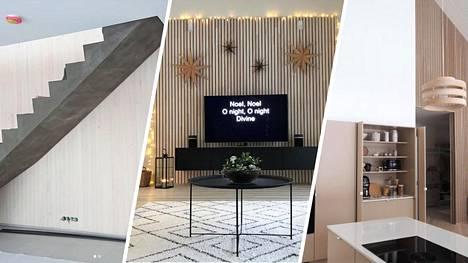 Suomalaiset esittelevät kotinsa, joissa on käytetty trendimateriaali rimaa.