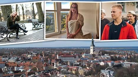 Kolme suomalaista kertoo, miksi päätyivät opiskelijaksi Tallinnaan. Virossa opiskelee heidän lisäkseen noin 1020 suomalaista korkeakouluopiskelijaa.