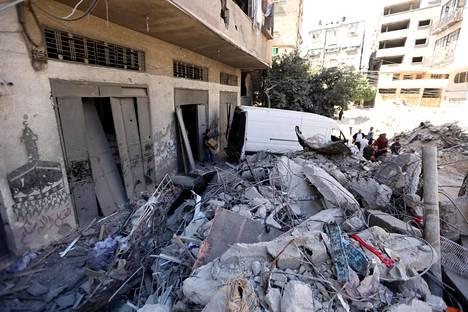 Iskussa jäi henkiin viiden kuukauden ikäinen vauva, joka löytyi tuhoutuneen kerrostalon raunioista.