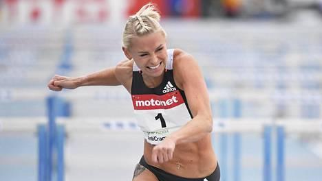 Annimari Korte oli yleisurheilukauden viidenneksi nopein pika-aituri naisissa.