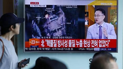 Pohjois-Korean otteita seurataan Etelä-Koreassa tarkasti. Ydinkoe aiheutti 5,3 magnitudin voimakkuudella järähdelleen maanjäristyksen.