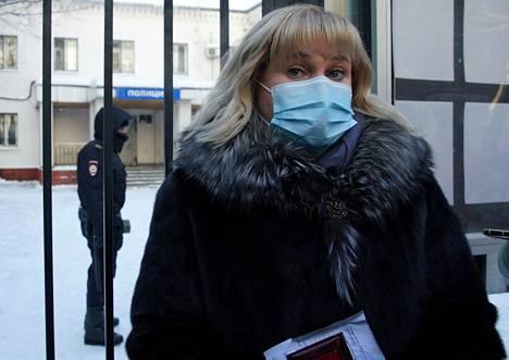 Olga Mihailova on yksi Aleksei Navalnyin asianajajista.
