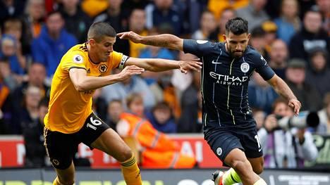 Wolverhampton onnistui pitämään Cityn tähtisikermän kurissa.