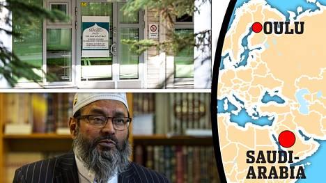Oulun moskeijalla ja sen imaamilla Abdul Mannanilla on tiiviit yhteydet Saudi-Arabiaan.
