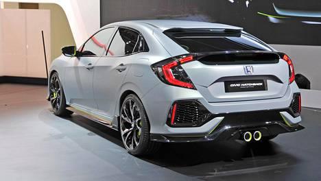 Honda Civicin konseptimalli oli esillä keväällä Genevessä. Nyt on tuotantoauton vuoro.