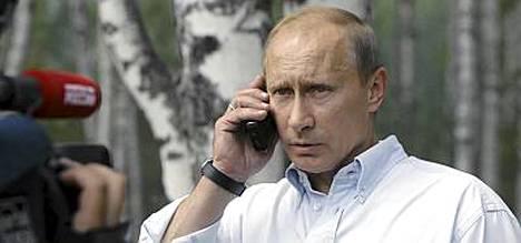 Putinin puhelimeen puhuminen on uutistapahtuma Venäjällä.
