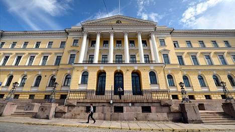 Valtaosa valtiovarainministeriöstä toimii Valtioneuvoston linnassa.