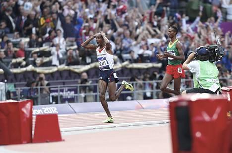 Mo Farahista tuli Iso-Britanniasta kansallissankari, kun hän voitti kaksi kultaa Lontoon olympialaisissa 2012.