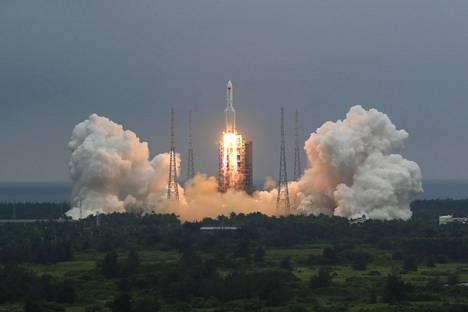 Raketti laukaistiin matkaan 29. huhtikuuta.