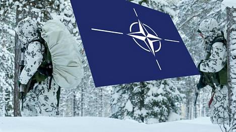 Yhdysvaltalaissotilaat harjoittelivat talvisodankäyntiä Sodankylän jääkäriprikaatissa tammikuussa 2017.