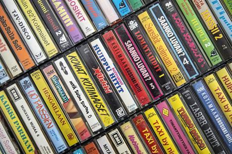C-kasetit ovat edelleen musiikkikeräilijöiden mieleen.