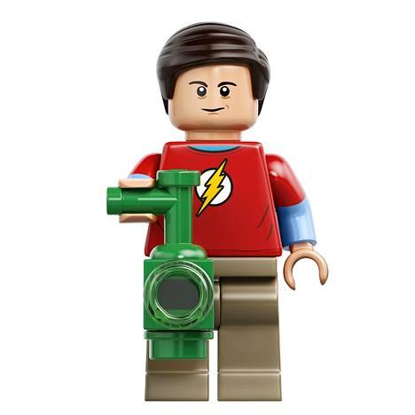 Sheldon Lego-hahmona.