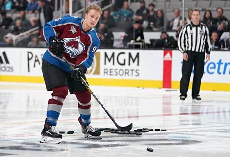 Mikko Rantanen esitteli taitojaan NHL:n tähdistöottelussa vuonna 2019.