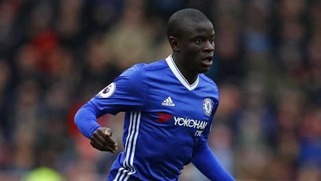 Chelsean N'Golo Kante ei osallistu joukkueensa harjoituksiin. Arkistokuva.