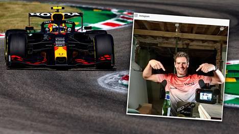 """Marc """"Elvis"""" Priestley työskenteli kymmenen vuotta McLarenin mekaanikkona. Kuluva F1-kausi on ollut hänen mielestään upea."""