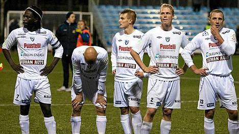 AC Oulun valitus hylättiin.