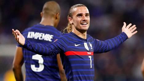 Antoine Griezmann oli ykköstähti, kaksi maalia takasivat Ranskalle voiton Huuhkajista.