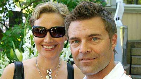 Ressu Redforsin ja Nina Björkfeltin aviolitto päätyi eroon vuonna 2015. Kuva on otettu vuonna 2007.