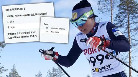 Superkaksarin voittokerroin nousi hurjaksi (154,72), kun suursuosikki Krista Pärmäkoski luopui tahallisesti voittotaistosta.