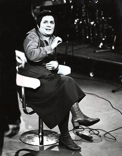 Tapaus Ritva Valkama -tv-sarja pyöri vuonna 1975.