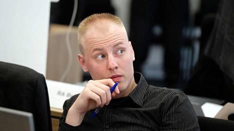 Patrick Festing, 26, oikeudessa syytettynä terroririkoksesta.