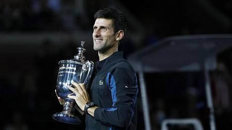 Djokovic vei Yhdysvaltain avoimen tennisturnauksen voiton