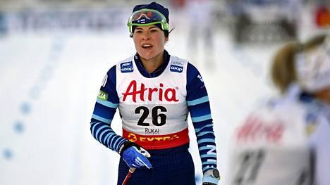 Krista Pärmäkosken urakka Rukalla päättyi lauantain 33. sijaan 10 kilometrin kilpailussa.