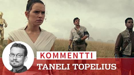 Star Wars -sarjan pitkän tarinan huipentava The Rise of Skywalker korostaa ystävyyden voimaa. C-3PO (Anthony Daniels), Rey (Daisy Ridley), Poe Dameron (Oscar Isaac) ja Finn (John Boyega) jatkavat kapinaa pahaa Imperiumia vastaan.