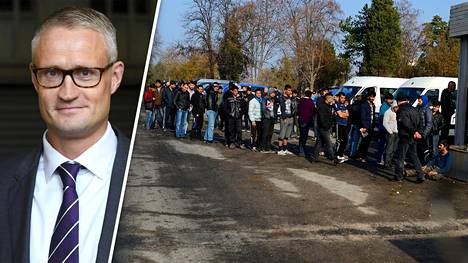 Jarmo Limnéllin mukaan Suomen on syytä varautua pakolaisaallon mahdollisuuteen.