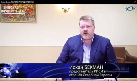 Joulukuulta 2015 löytyy Ok.ru-sivun jakama video, jossa Johan Bäckman esitellään Risin Pohjois-Euroopan edustajaksi.