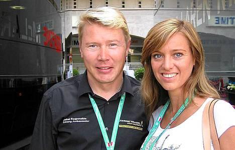 Mika ja Marketa Monacossa.