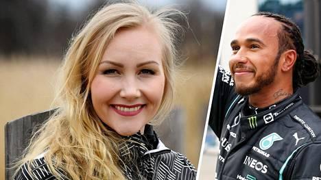 Emma Kimiläinen sai yllättävät onnittelut formuloiden moninkertaiselta maailmanmestarilta Lewis Hamiltonilta.
