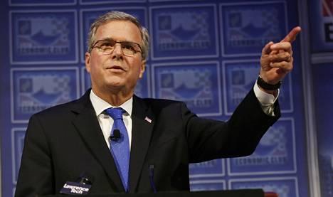 Entinen Floridan kuvernööri Jeb Bush on aika ajoin vihjaillut presidenttiehdokkuuden suuntaan julkisissa puheenvuoroissaan.