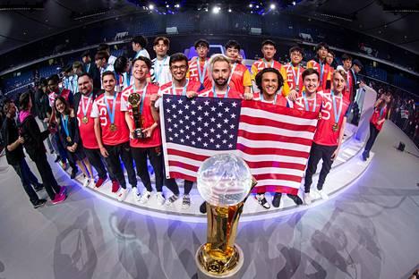 Yhdysvallat voitti Overwatchin maailmanmestaruuden.