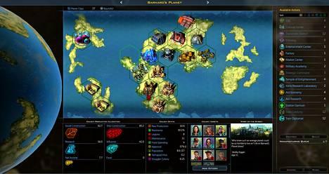 Galactic Civilizations III edustaa 4X:ksi kutsuttua pelityyppiä.