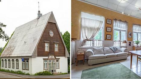 Helsingin Pitäjänmäessä myydään asuntoa, joka on toiminut kirkkona vuosina 1929‑1959.