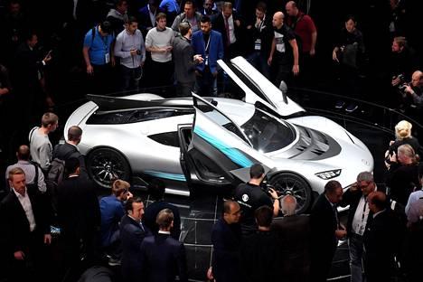 Mercedes-AMG:n katukiituri on nimeltään Project One.